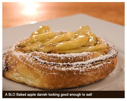 SLO Baked Bakery - Baked Apple Danish